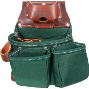 Occidental Leather 8018DBLH OxyLights 3 Pouch Tool Bag Left