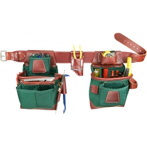 Occidental Leather 8585 Heritage Fat Lip Tool Belt Set