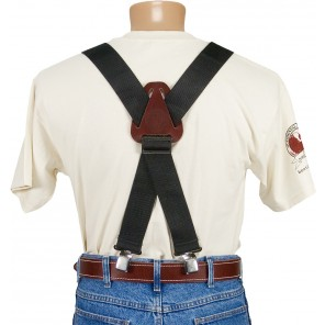 Occidental Leather 9020B OXY Nylon Suspenders Black