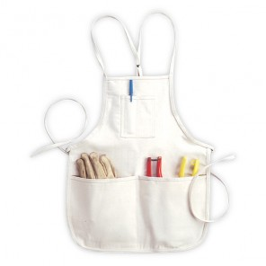 CLC C11 4 Pocket Loop Neck Bib Apron