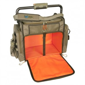 Wild River WN3702 Tackle Tek Frontier - Lighted Bar Handle Tackle Bag