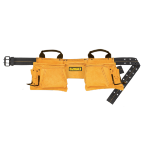 DeWalt DG5372 12 Pocket Carpenter's Suede Apron