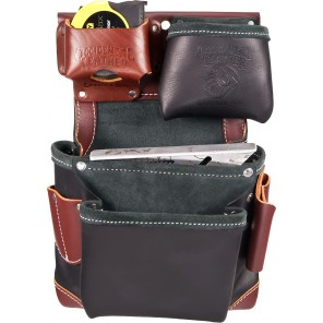 Occidental Leather B5611 Green Building Fastener Bag In Black