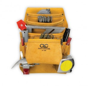 CLC I933 10 Pocket Carpenter's Nail & Tool Bag