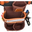 Occidental Leather 9855 Cafe Adjust-to-Fit Fat Lip Tool Bag Set