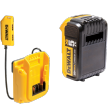 DeWalt DGC533 33-Pocket Lighted USB Charging Tool Backpack